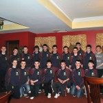 2013 U16 Championship medal Presentation19