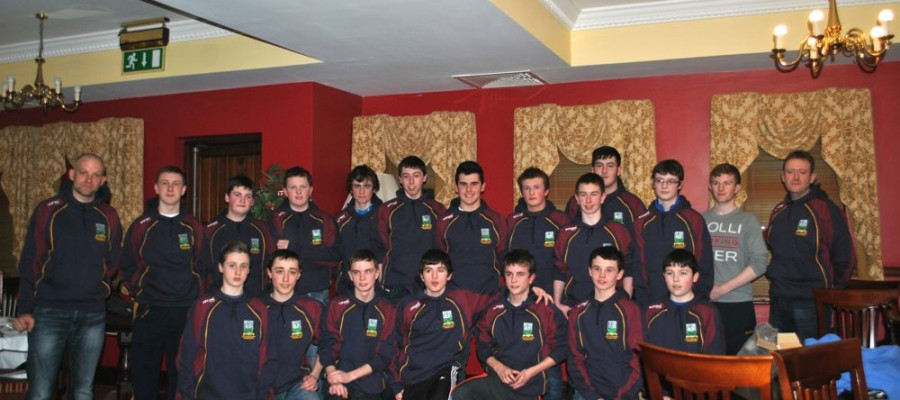 Under 16 Championship Medal Presentation