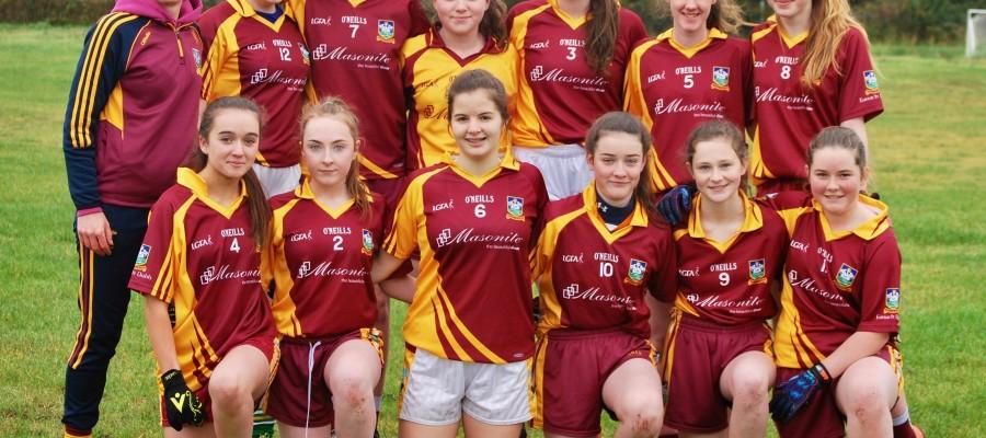 Under 16 Ladies Shield Final